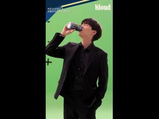 [롯데칠성][클라우드 X BTS] 슈가 비하인드 세로형 직캠.mp4