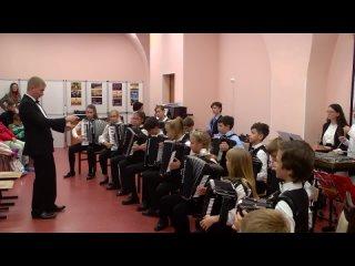 Младший оркестр баянистов им. П.И. Смирнова