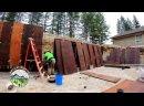 Как возводить бетонные стены русские субтитры