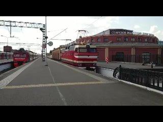 Электровоз подарили Музею железных дорог России