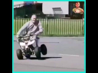 Жалко деда!