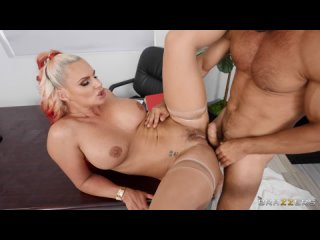BigTitsAtWork Brazzers Phoenix Marie (Her Slutty Thoughts 2) Glasses, Blouse, Medium Ass, Tattoo, Athletic