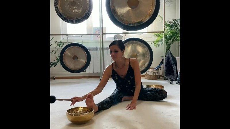 Видео от Crystal Sound Studio Звукотерапия