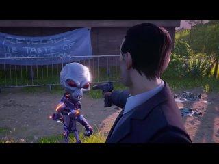 Трейлер ремейка Destroy All Humans 2