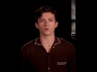 New promo from tom holland for Spider-Man no way home - - Credit to @AllNewsTom who posted it