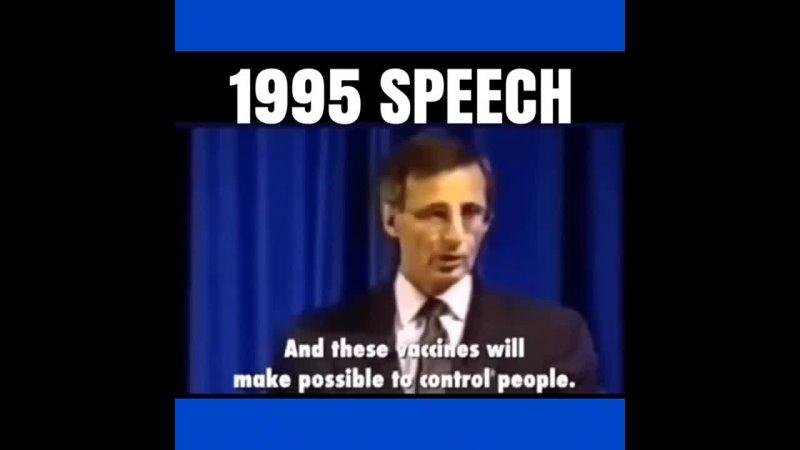 Luziferischer Freimaurer spricht in einer Rede von 1995 über die Kontrolle der Menschheit durch Impfzwänge