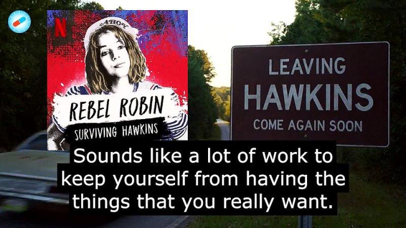 Rebel Robin Surviving Hawkins A Stranger Things Podcast
