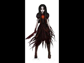 Alex Crowley для проекта Alice: Asylum () - трансформация Теневой Алисы (Shadow Alice)