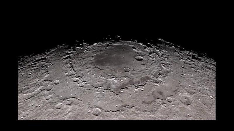Восход и заход Солнца на поверхности Луны