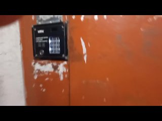 СТАРЫЙ РАСПАШНОЙ ЛИФТ КМЗ 58-(1963 Г.в) Q=240/kg V=0,65m/s Г. Москва Россия