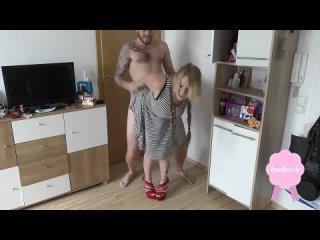 Трахает немецкую сучку раком и кончает сперму в киску (Каблуках Белье Платье Минет Ебеть Анал Шлюха Частное German Slut Blowjob
