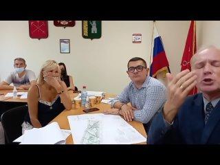 Глава администрации Светлановское игнорирует вопрос о протоколе публичных слушаний