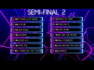 Summer Song 2021 2 Semi-Final Recap