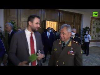 Шойгу прокомментировал выход американских войск из Афганистана.