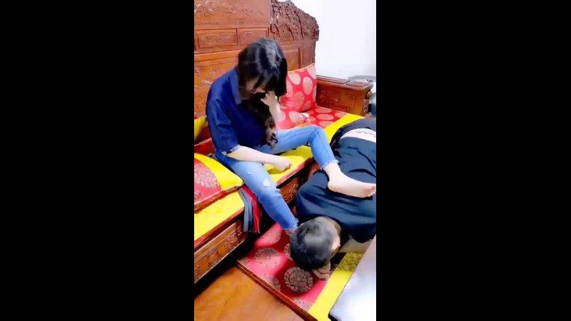 Chinese femdom video 15