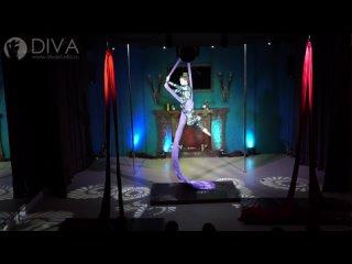 Танцы на полотнах (цирковые полотна), ученица студии Виктория Лукина, хореограф Дарья Евстафьева