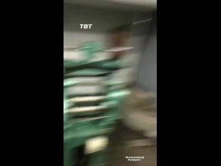 """Кыванч Татлытуг. Закадровое видео со съёмое сериала """"Столкновение"""""""