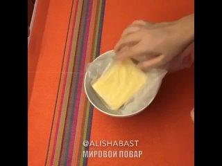Готовим сырный рулет🤩😍🙈