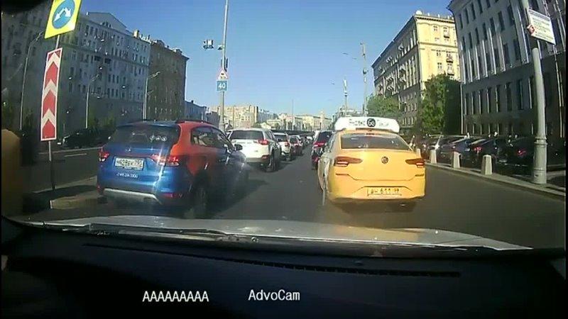 Притерся с таксистом