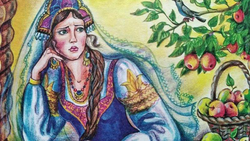 Царевна Несмеяна сказка в обр А Афанасьева