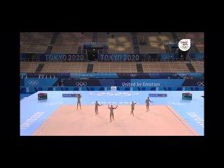Гимнастки из Израиля выступили под попурри песен Бритни Спирс на Олимпиаде в Токио в 2021 году