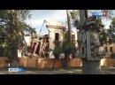 Символ Рубцовска Дом со шпилем разрушился на глазах горожан