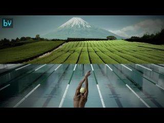 Это, наверное, самый зрелищный рекламный ролик на тему Олимпийских игр в Токио