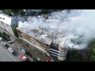 Пожар Ковров