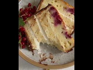 """Кекс-торт с малиной. 1 ч. / Наша группа во ВКонтакте: """"ТОРТ-РЕЦЕПТ-VК""""."""