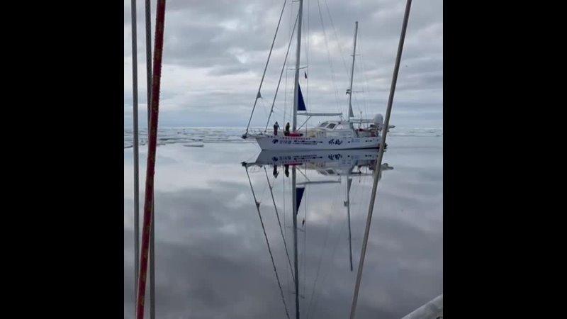 Экспедиция на парусной яхте Апостол Андрей по Северному Ледовитому океану
