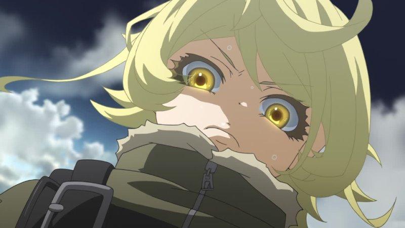 Военная хроника маленькой девочки Сага о злой Тане 1 12 серия Anidub Марафон Аниме все серии BD 1080