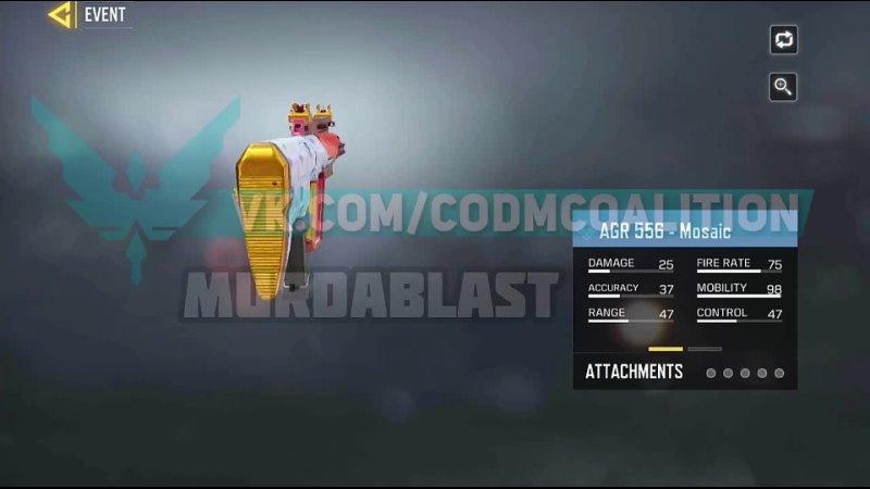 Видео от CALL OF DUTY MOBILE COALITION CODM NEWS