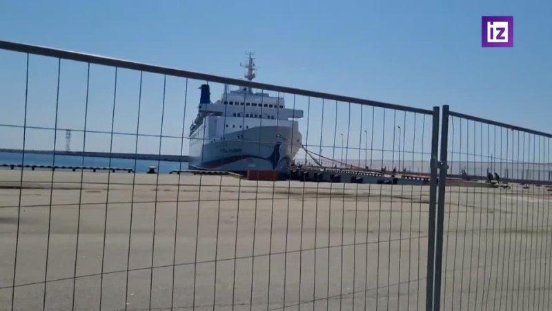 В порту Сочи застрял круизный лайнер