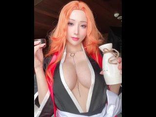 Rangiku matsumoto big tits; big boobs; nude; naked; 3d sex porno ...