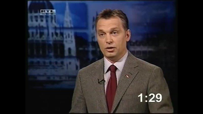 Gyurcsány vs Orbán választási vita 2006 4
