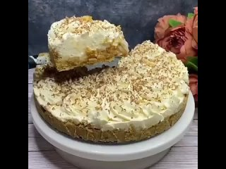 Английский тортик Баноффи Пай