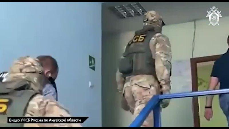 Главного полицейского посёлка Февральск задержали в Амурской области