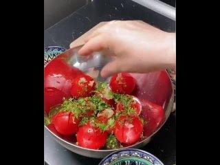закуска из спелых томатов