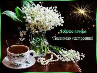 Доброго вечера. Весеннего настроения!