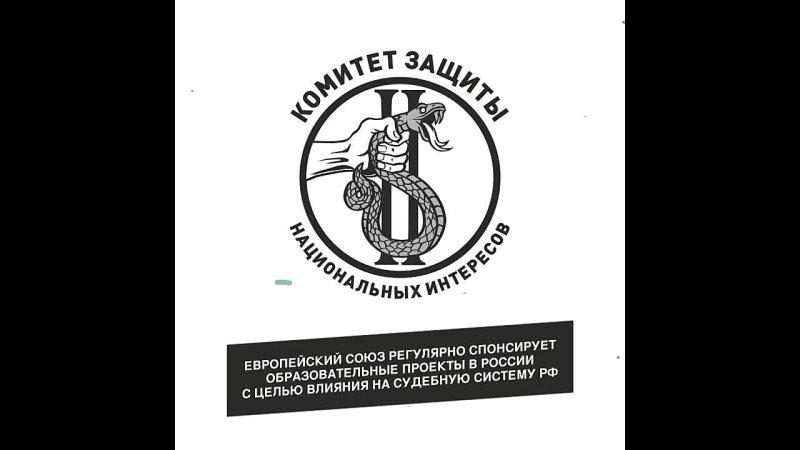 Европейский союз регулярно спонсирует образовательные проекты в России с целью влияния на судебную систему РФ