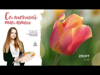 Открытый мастер-класс Солнечный тюльпан, Надежда Ильина