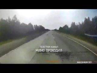 Водитель автобуса погиб от влетевшей в лобовое стекло монтировки. ЯНАО,