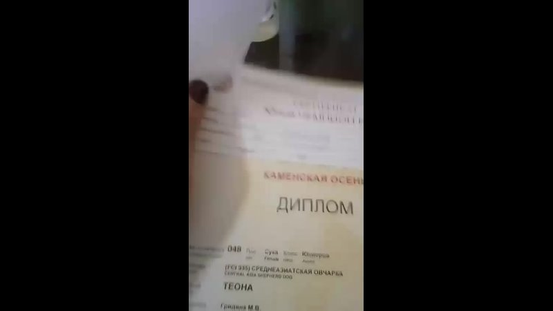 Видео от Марианны Гри