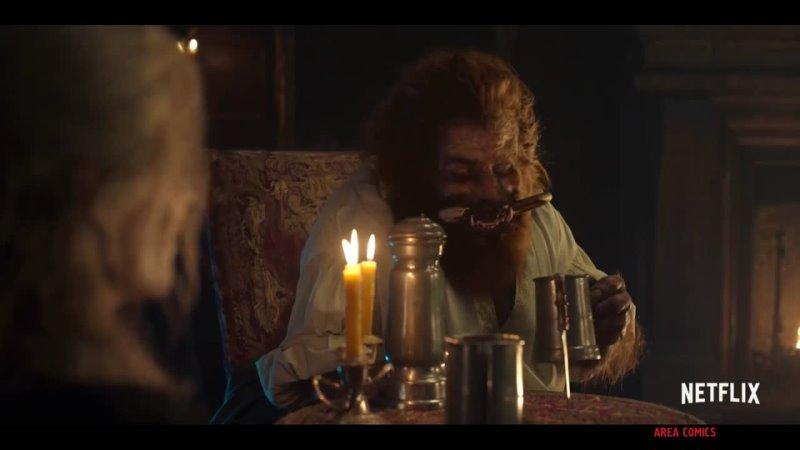 Разговор Геральта с Нивелленом Отрывок из 2 сезона Сериала Ведьмак