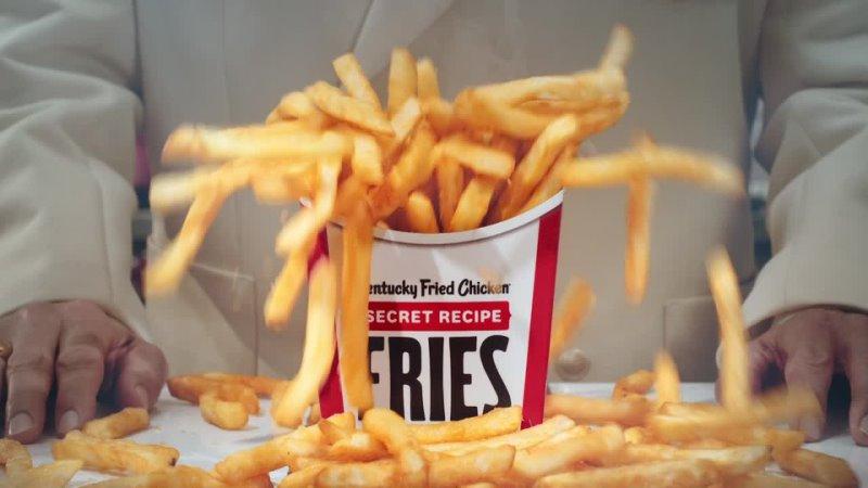 KFC Now Were Fryin
