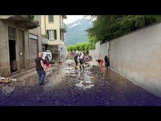 Стихийное бедствие в Италии. Наводнения разрушили север страны