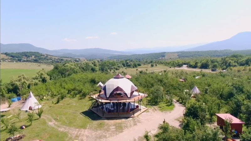 Творческое пространство Арт Ковчег в Бельбекской долине