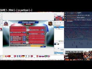 NHL94 PRESEASON 16 - Игры по-товарищески
