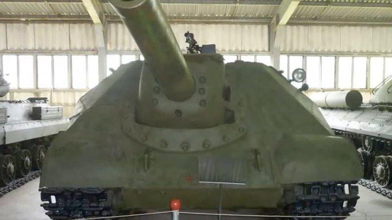 Объект 704 ИСУ 152 обр 1945 года Опытная советская тяжёлая ПТ САУ периода Великой Отечественной
