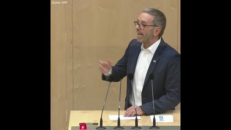 Herbert Kickl ÖVP will alles kriminalisieren was sich nicht vereinnahmen lässt